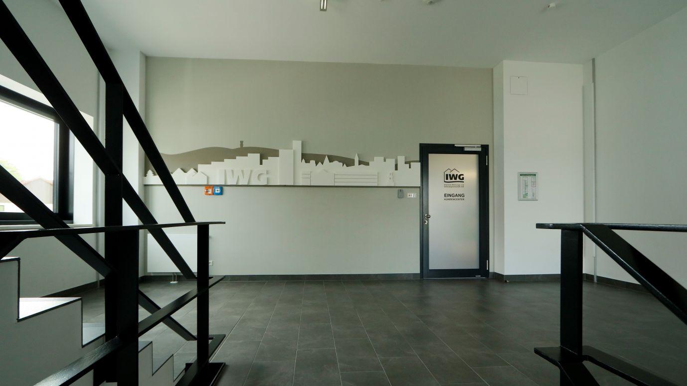 Treppenhaus Eingang IWG 2
