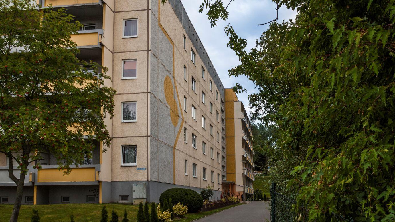 Ziolkowskistr. 29 Eingang WG Pörlitzer Höhe