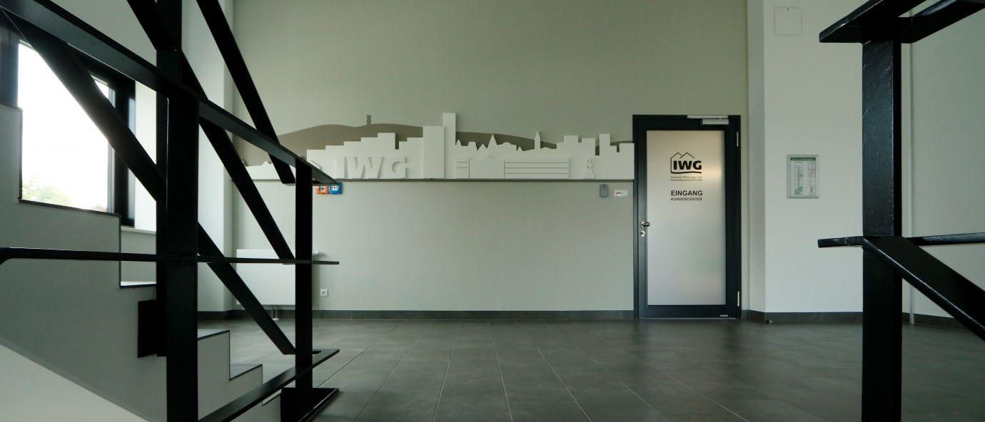 Treppenhaus Eingang IWG 1