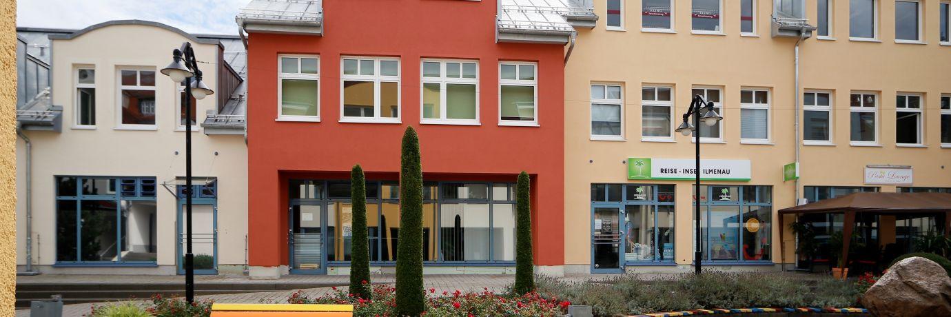 Goethepassage Innenhof, Gewerbe